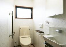 N様邸 トイレ