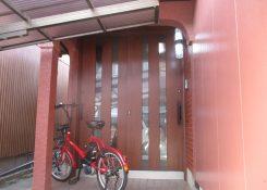 S様邸 玄関引戸改修工事