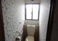 T様邸 トイレ内装替え工事