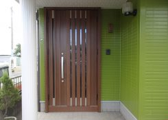 T様邸 玄関ドア取替工事