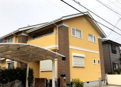 大牟田市 O様邸 外壁塗装替え工事