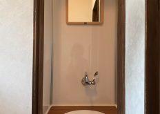 大牟田市 H様邸 トイレ手洗い器取替え工事
