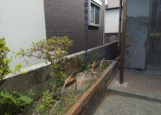 大牟田市 T様邸 隣地境界ブロック解体工事