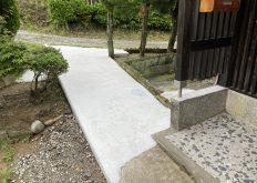 大牟田市 M様邸 アプローチ改装工事