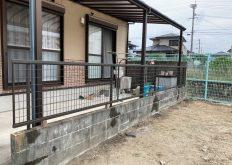 大牟田市 N様邸 フェンス取替え工事